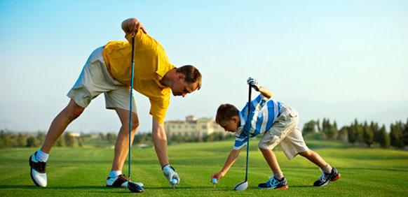 clases extraescolares de golf