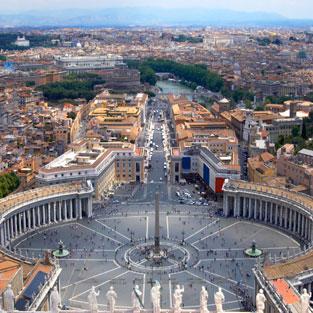 Viaje de estudios visita Roma Vaticano
