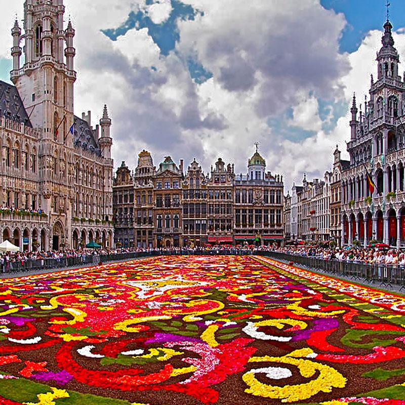 viaje de fin de curso a belgica