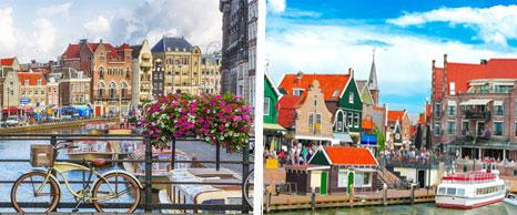 viaje de fin de curso a Amsterdam y voledam