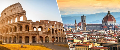 Viaje fin de curso Roma y Florencia