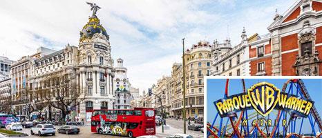 viaje fin de curso Madrid y Warner