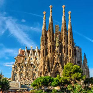 Fin de curso barcelona Sagrada familia