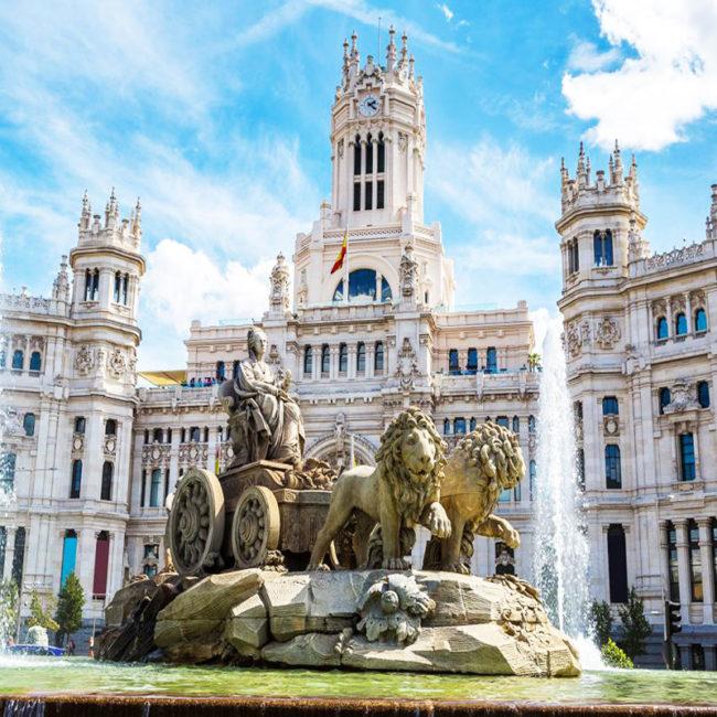 viaje de estudios en Madrid