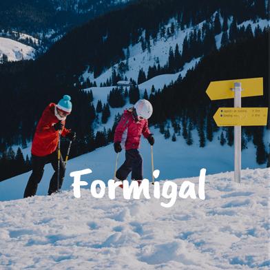 viaje de esqui a formigal