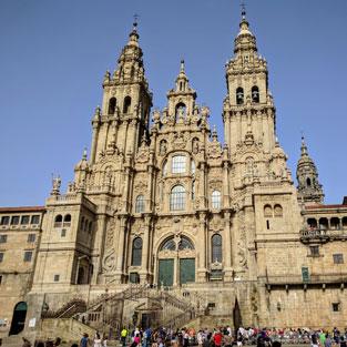 Viaje de estudios a Santiago Galicia