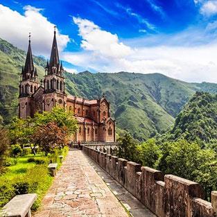 Viaje fin de curso Asturias Covadonga