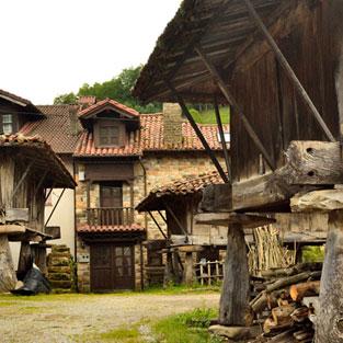 Viaje fin de curso Asturias horreos