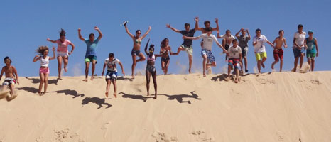 Viaje fin de curso en Tarifa