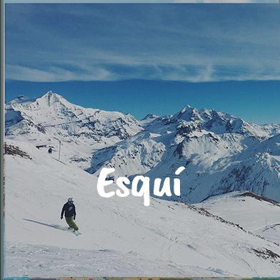 Viajes escolares esqui