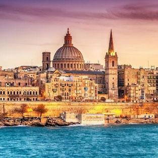 fin de curso en Malta