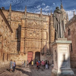 Viaje de fin de curso en Salamanca