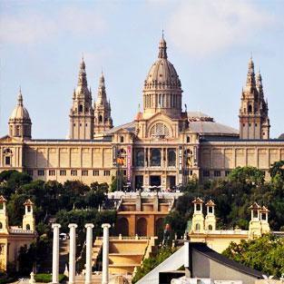 viajar a barcelona en el viaje de estudios
