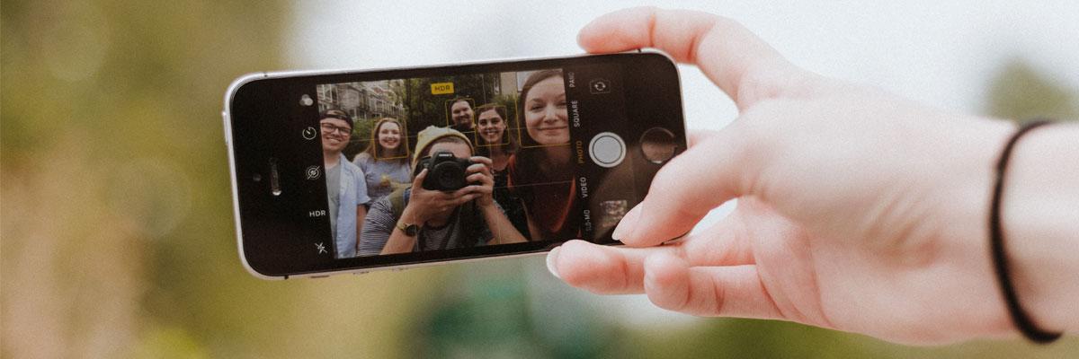 selfie fin de curso