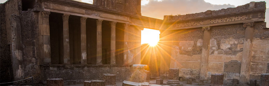 viaje de fin de curso Pompeya