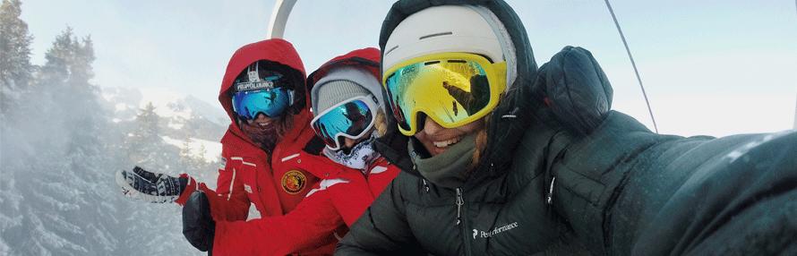 viaje esquí